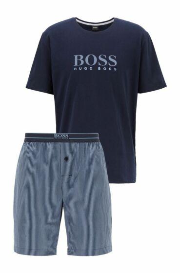 Hugo Boss Urban Short Pyjama s/s Dark Blue
