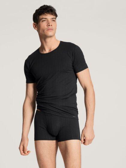 Calida Pure & Style T-Shirt Zwart