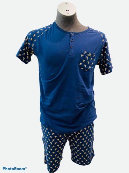 Charlie Choe E-Family Theme Heren Short Pyjama s/s
