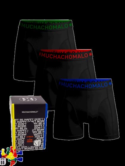 Muchachomalo Game Shorts 3P Zwart
