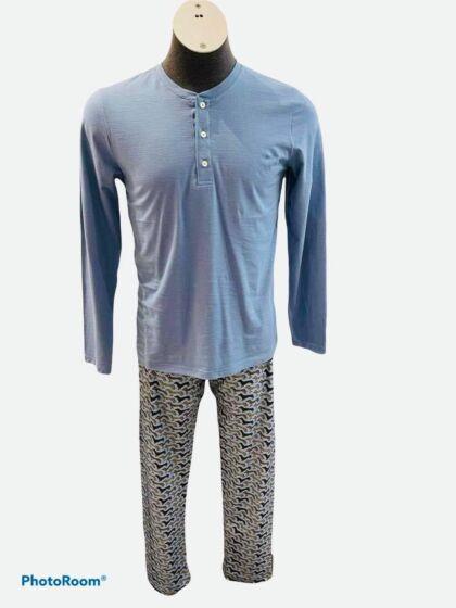 Mey Ruka Pyjama l/s Cloud Blue