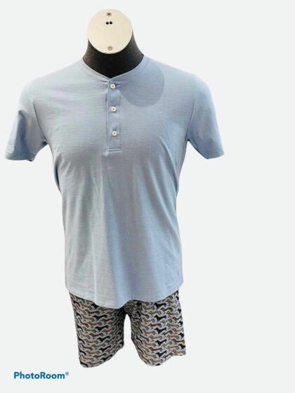 Mey Ruka Short Pyjama s/s Cloud Blue