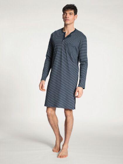 Calida Relax Streamline Nachthemd l/s DarkSapphire
