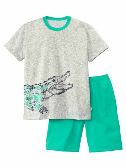 Calida Boys Crocodile Short Pyjama s/s