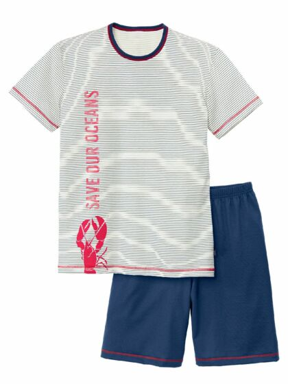 Calida Boys Ocean Short Pyjama s/s