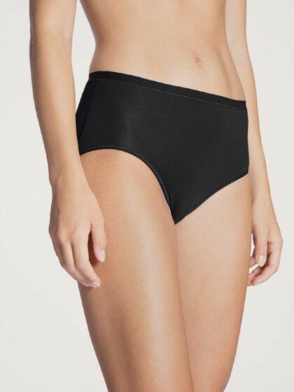 Calida Natural Comfort Slip High Waist Zwart