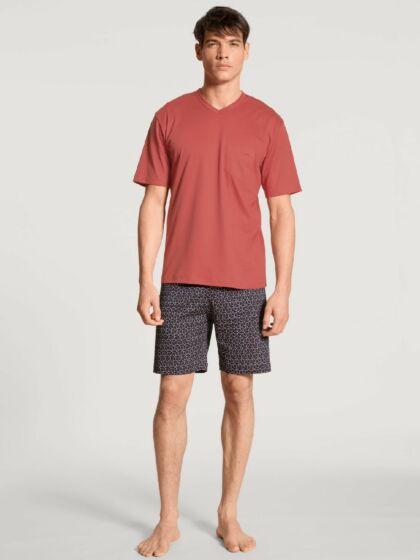 Calida Relax Streamline Short Pyjama s/s