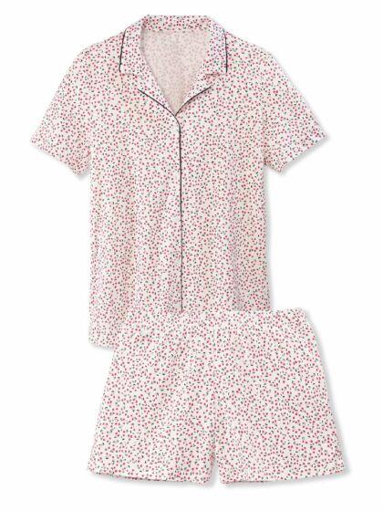 Calida Springtime Sleep Doorknoop Short Pyjama s/s