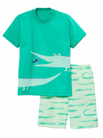 Calida Boys Crocodile Short Pyjama s/s