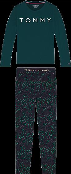 Tommy Hilfiger Girls Glow Pyjama l/s Desert Sky