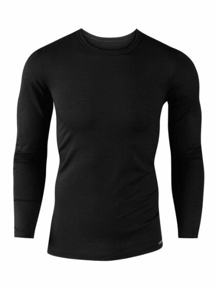 Calida Evolution Shirt l/s heren Zwart