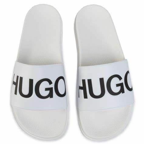 Hugo Boss Slippers Open White