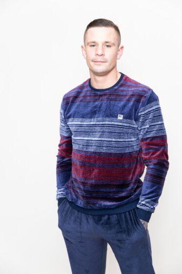 Massana Pyjama l/s Blauw