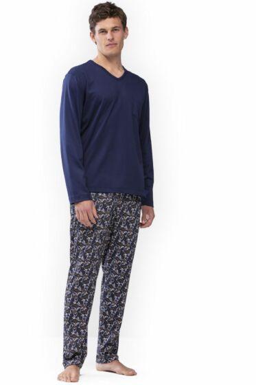 Mey Galway Pyjama l/s True Blue