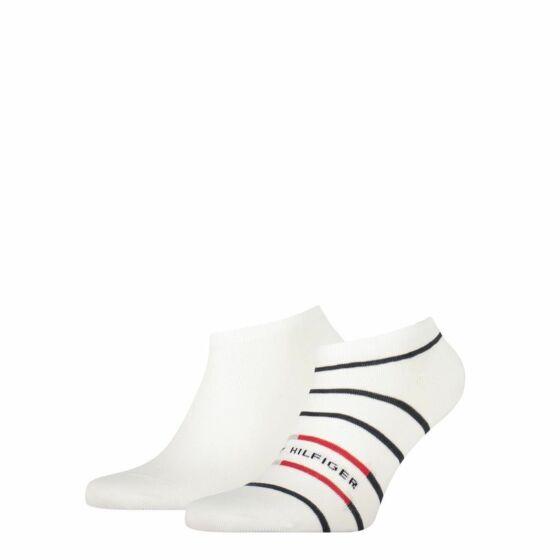 Tommy Hilfiger Men Sneaker Breton Stripe 2P Wit