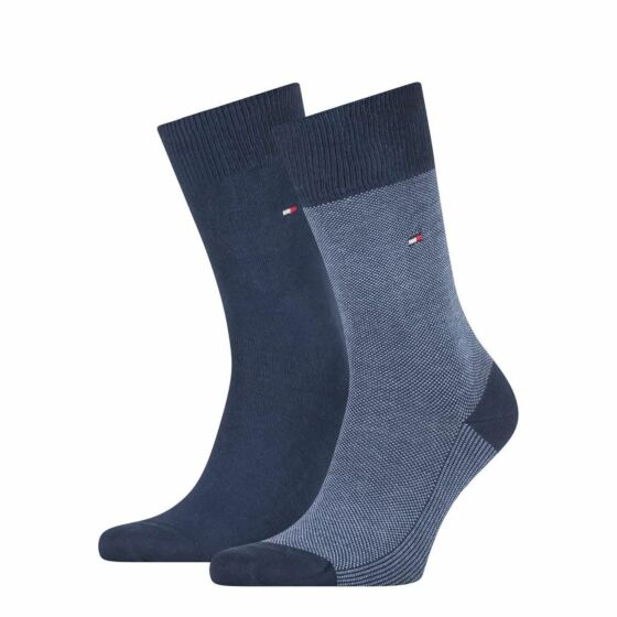 Tommy Hilfiger Men Sock Birdeye 2P Navy
