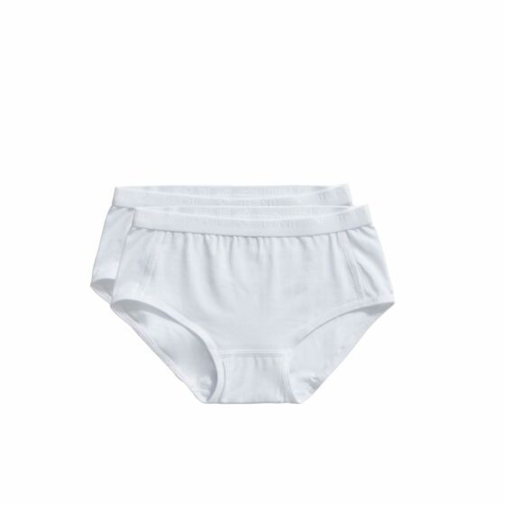 Ten Cate Basic Girls Brief 2 Pack Wit