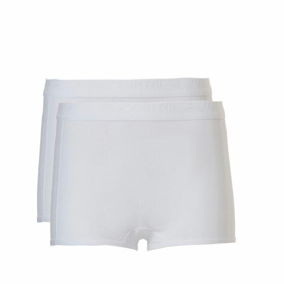 Ten Cate Basic Girls Shorts 2 Pack Wit