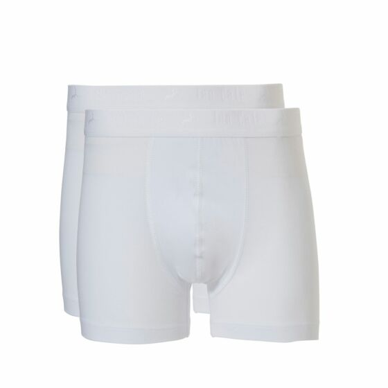 Ten Cate Basic Boys Shorts 2 Pack Wit