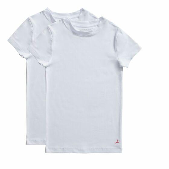 Ten Cate Basic Boys T-Shirt 2 Pack Wit