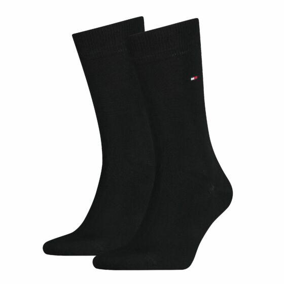 Tommy Hilfiger Men Sock Classic 2 Pack Zwart