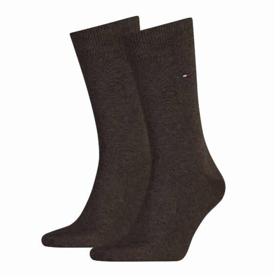 Tommy Hilfiger Men Sock Classic 2 Pack Oak