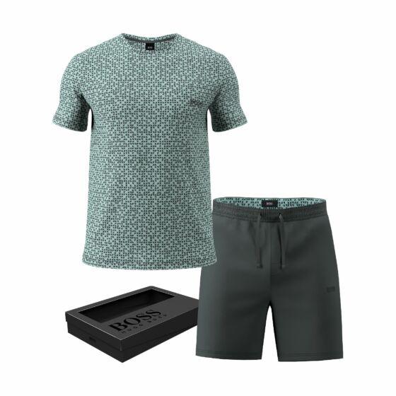 Hugo Boss Relax Short Pyjama s/s Dark Green