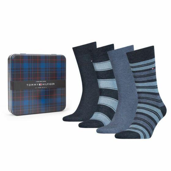 Tommy Hilfiger Stripe Men Sock 4P Jeans