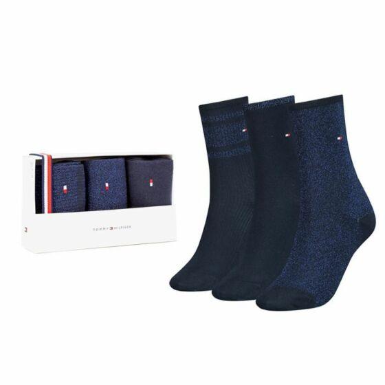 Tommy Hilfiger Giftbox Women Sock 3P Navy/Blue